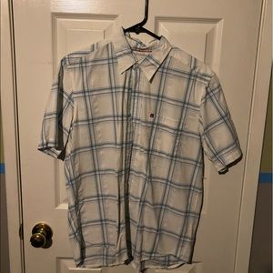 Quick silver button up